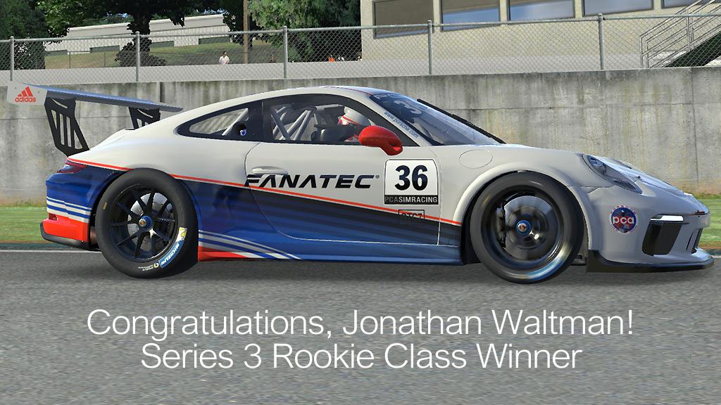 Congratulations, Jonathan Waltman!