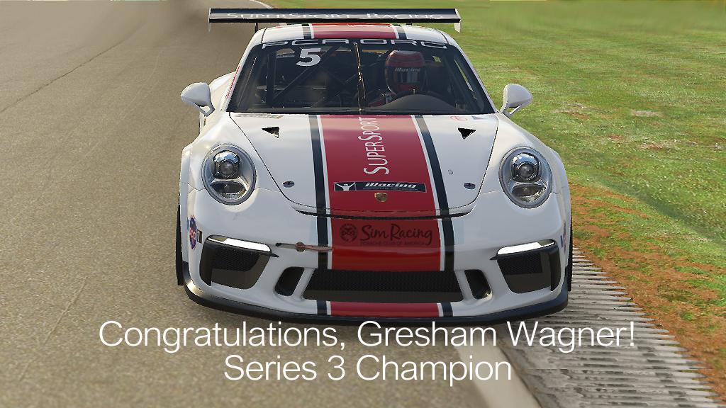 Congratulations, Gresham Wagner!