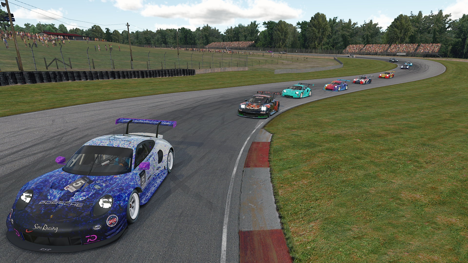The Sportsman and Rookies race at Mid-Ohio in Series 4