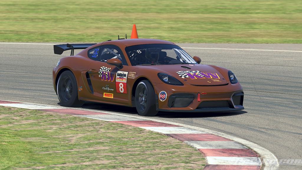 Jason Stein Race 2 GTD2 Winner