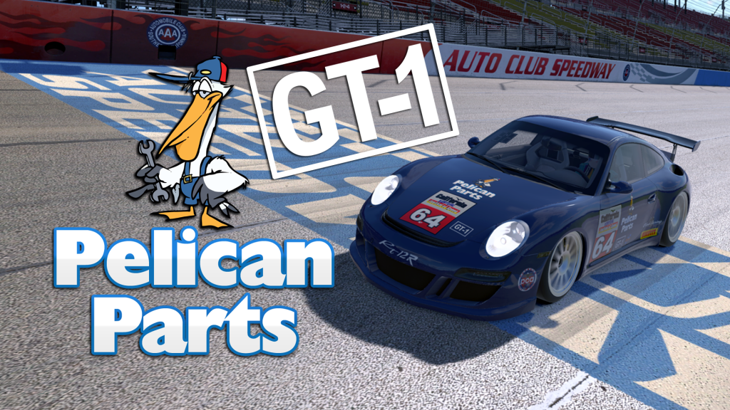 Race 1 in GT-1 Class was sponsored by PelicanParts