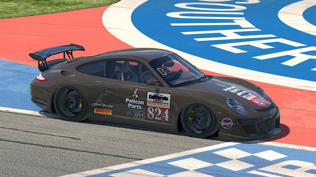 Renning Burns Race 1 winner in GT-1