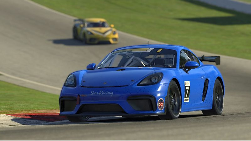 PCA Club winner at MoSport, Sean Benet